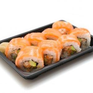 Futomaki Spicy Salmone | 8 pezzi